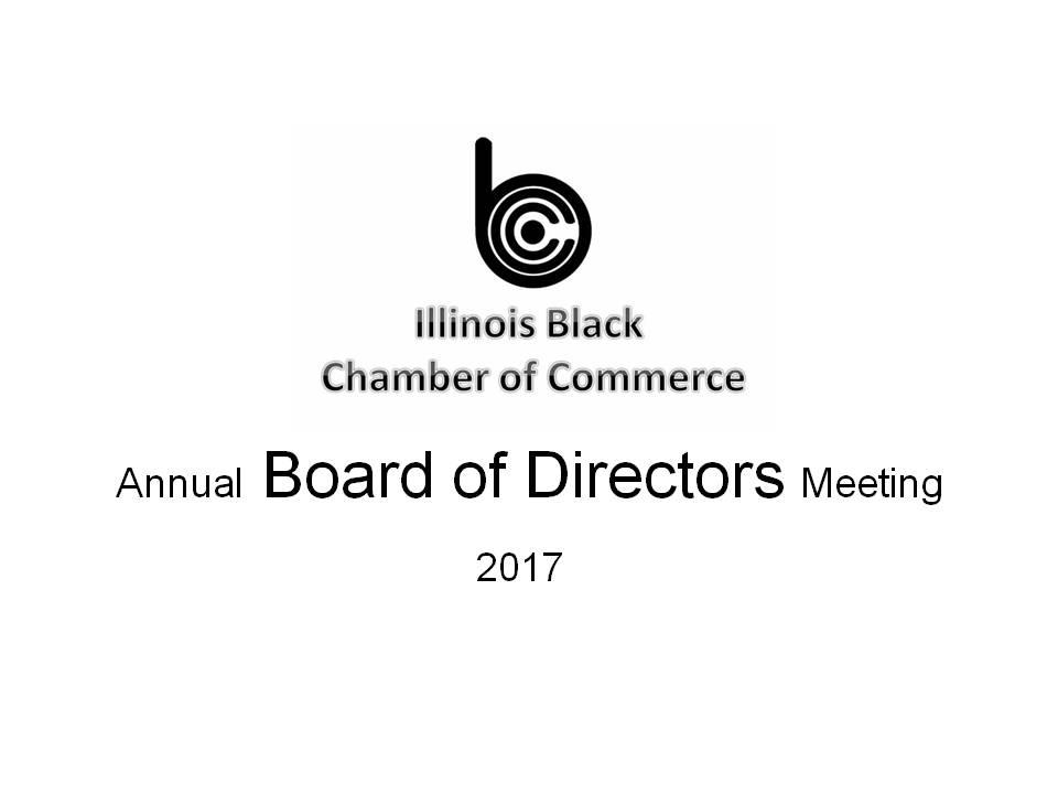 ILBCC Annual Board Meeting