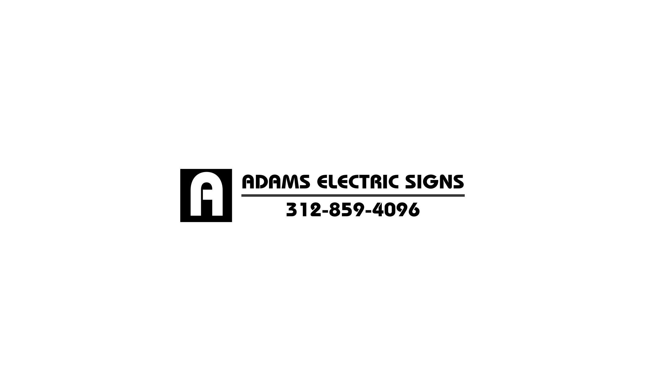 Adams Electric Signs