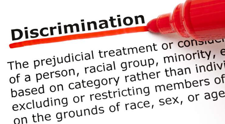 discrimination graphic
