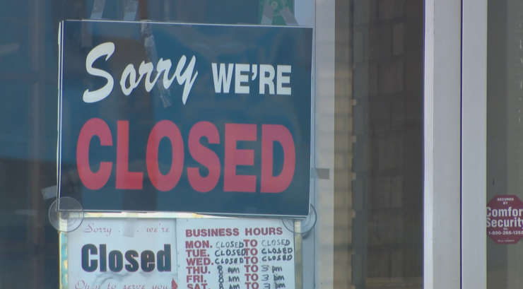 small business closed
