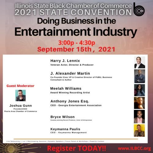entertainment industry panel